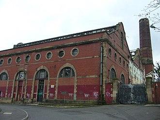 Edinburgh Corporation Tramways - The Shrubhill Depot, Leith Walk.