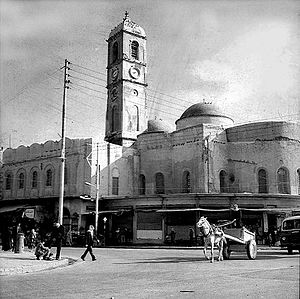 Destruction of cultural heritage by ISIL - The Sa'a Qadima Church in Mosul, blown up in April 2016