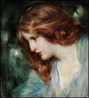 Laura Muntz Lyall - Image: Laura Muntz Lyall Portrait of a Young Woman