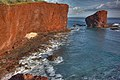 Lava Flows at Sweetheart Rock Lanai Hawaii.jpg