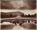 Le Château, fin Octobre, le soir, effet d'orage, vue prise du Parterre du Nord MET DP124779.jpg