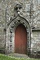 Le Faouët (Morbihan) Chapelle Saint-Fiacre Portail 689.jpg
