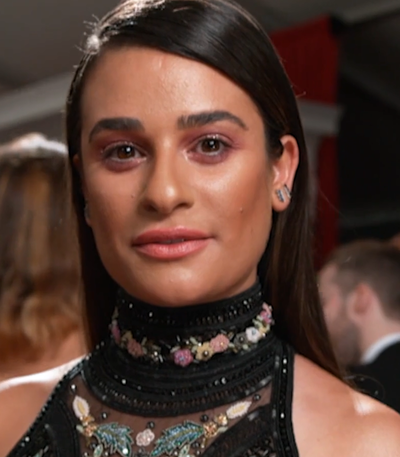 Lea Michele, American actress, singer and author