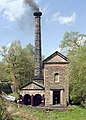 Leawood Pumphouse In Steam - geograph.org.uk - 17554.jpg