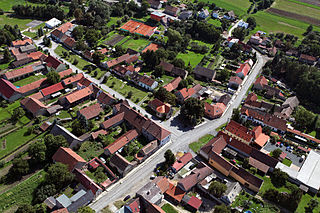Ledce (Kladno District) Municipality and village in Central Bohemian Region, Czech Republic