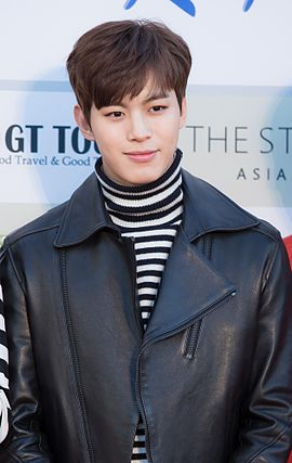 Lee Hong-bin - 2016 Gaon Chart K-pop Awards red carpet 03.jpg
