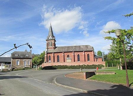 Église Saint-Géry de Lehaucourt