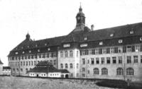 Lehrerseminar Backnang (1910) Hofansicht Zentralblatt Abbildung 2.png