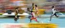 Leichtathletik WM 2013 Moskau 100 m Vorlauf.jpg