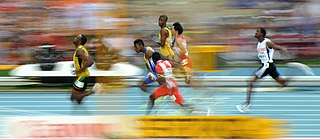 100 metres at the World Championships in Athletics