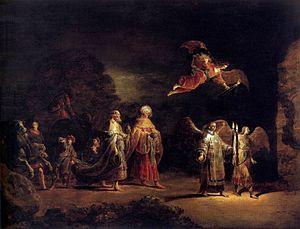 Leonaert Bramer - The Magi going to Bethlehem