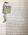 Leonardo bruni, traduzione del fedone di platone, firenze 1475-1500 ca. (bml, pluteo 65.15) 02 iniziale miniata Q.jpg