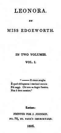 Leonora cover