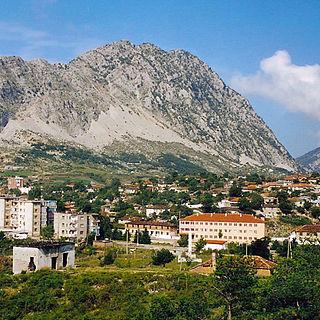 Leskovik Municipal unit in Korçë, Albania