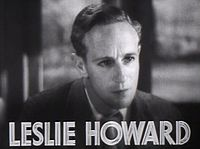 Leslie Howard.