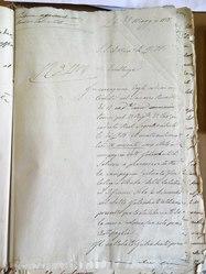 Lettera del Savarese al ministro dei lavori pubblici 28 maggio 1858