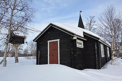 How to get to Levajok Fjellkirke with public transit - About the place