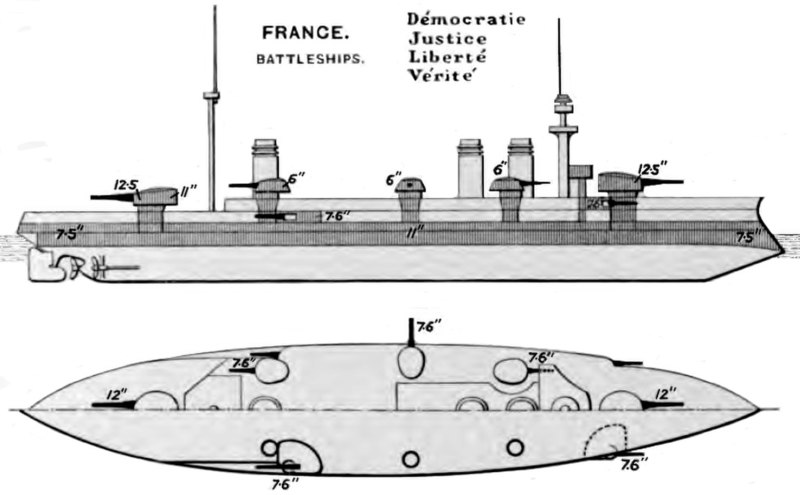 File:Liberté class battleship diagrams Brasseys 1906.jpg