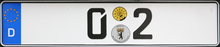 Licenseplate of limousine.png