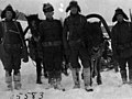 Lieutenant A.B. Carlson with a patrol to investigate villages, Russia 1918-20 (5583) (18155804979).jpg