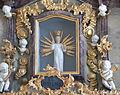 Lindenberg Alte Pfarrkirche Aureliusaltar Detail Prager Jesuskind.jpg