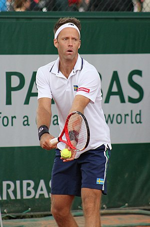 Robert Lindstedt - Robert Lindstedt at the 2013 French Open