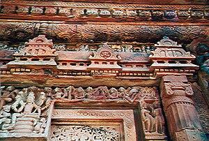 Deogarh, Uttar Pradesh - Entry frame of the Dashavatara temple