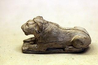 Lion-shaped counter-E 11889