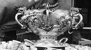 9th Infantry Regiment (United States) - The Regiment's prized Liscum Bowl, was made from silver given to the 9th Infantry Regiment by China after the Battle of Tientsin. It is now worth more than $2.5 million.