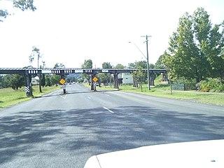 Leycester Creek railway bridge, Lismore