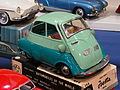 Litho tin toy two tone green BMW Isetta, automobiles of the world series no 588 pic2.JPG