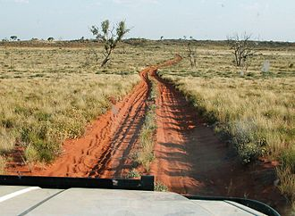 Stock route - Little Sandy Desert as seen from the Canning Stock Route