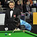 Liu Chuang and Thorsten Müller at Snooker German Masters (DerHexer) 2013-01-30 01.jpg