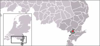 Beegden - Image: Locatie Heel dorp