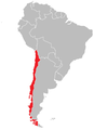 Location of Chile within South America.png