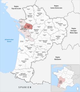 Arrondissement of Saint-Jean-dAngély Arrondissement in Nouvelle-Aquitaine, France