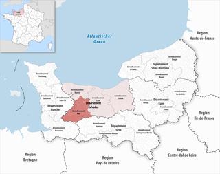 Arrondissement of Vire Arrondissement in Normandy, France