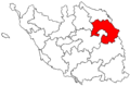 Locator map of the canton des Herbiers (in Vendée).png