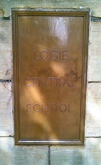 David Dougal Williams - The Original Logie Central School Dundee Entrance Sign