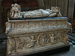 Tomb of the sons of Charles VIII and Anne of Brittany.