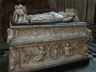 Charles Orlando, Dauphin of France - Tomb of Charles Orland and Charles, two sons of Anne and Charles VIII at Tours Cathedral.