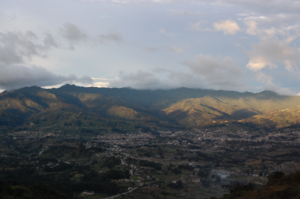 the city of Loja