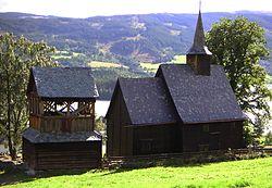 Bilderesultat for lomen stavkirke