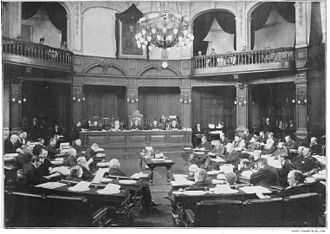 London School Board - The board in session (c 1895)