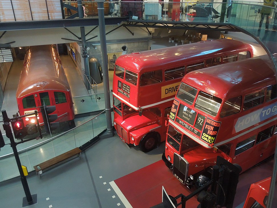 London Transport Museum - Buses