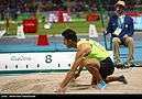 Long jumper Mohammad Arzandeh at the 2016 Olympics 03.jpg