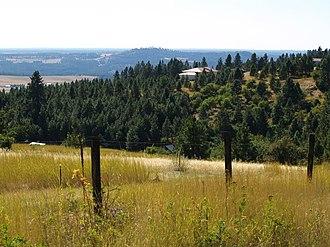 Krell Hill - Looking SW From Krell Hill, September 2012