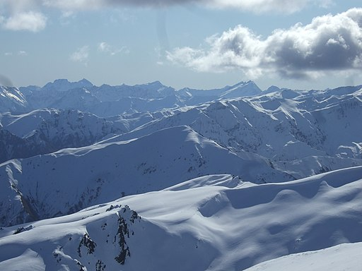 Looking West from Coronet Peak
