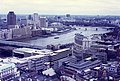 Looking over Blackfriars from St Paul's viewing gallery, 1983 - geograph.org.uk - 1981424.jpg