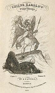 Lord Byron - Childe Harold's Pilgimage - Dugdale edition.jpg